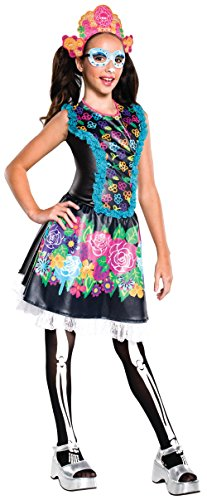Rubie's Costume Monster High Collector Series Skelita Calaveras Child Costume, Medium -