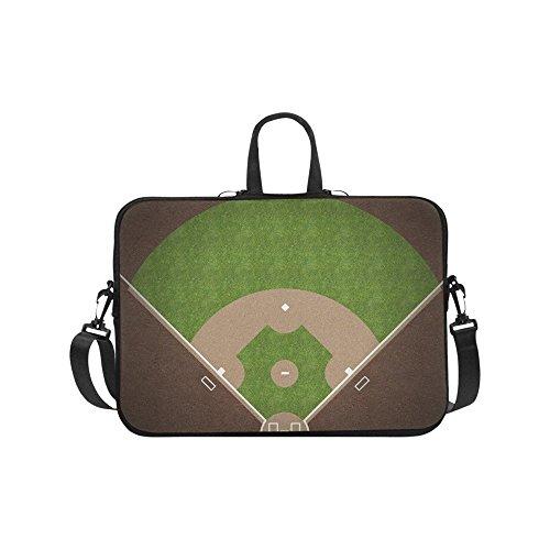 (Laptop Sleeve Case 14 14.1 Inch,American Baseball Field Resistant Neoprene Laptop Sleeve Notebook Computer Pocket Case Tablet Briefcase Carrying Bag Laptop Shoulder Bag)