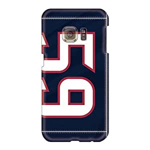 AshtonWells Samsung Galaxy S6 Shock Absorption Cell-phone Hard Covers Allow Personal Design Fashion Houston Texans Pattern [xbe17834PWUJ]