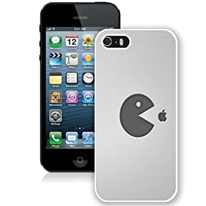 Fashionable And Durable Designed Case For iPhone 5 With pacman food apple (2) Phone Case