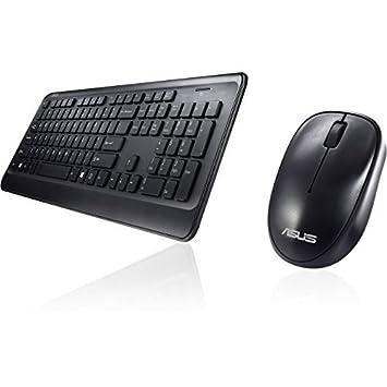 8cebbe930b8 Asus W2000 Wireless Black Keyboard and Mouse: Amazon.co.uk ...