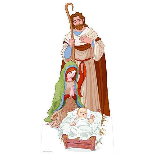 SC1107 Nativity Scene Cardboard Cutout Standup]()