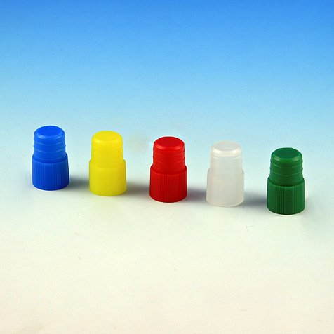 Globe Scientific 118139W Polyethylene Plug Cap for Test Tubes, 12mm Size, White (Pack of 1000)