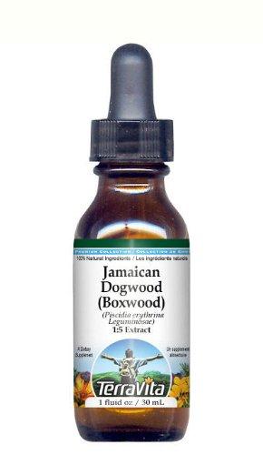 UPC 064435127411, Jamaican Dogwood (Boxwood) Glycerite Liquid Extract (1:5) - No Flavor (1 oz, ZIN: 512741)