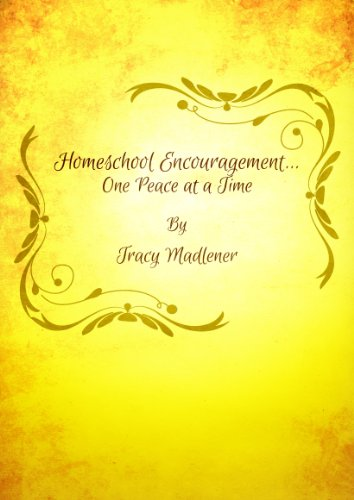 Homeschool Encouragement... One Peace at a Time