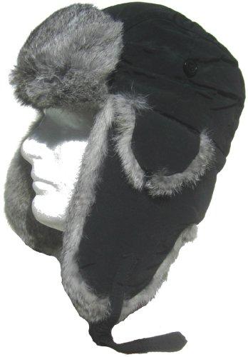 klondike-sterling-taslon-rabbit-fur-trim-trooper-black-grey-fur-medium