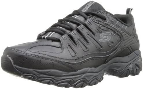 Skechers Sport Men's Memory Foam Fit Reprint Lace-Up Sneaker