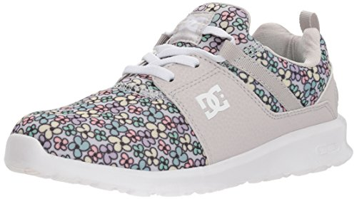 P Skate Shoe, Multi, 1 M US Little Kid (Dc Girls Shoes)
