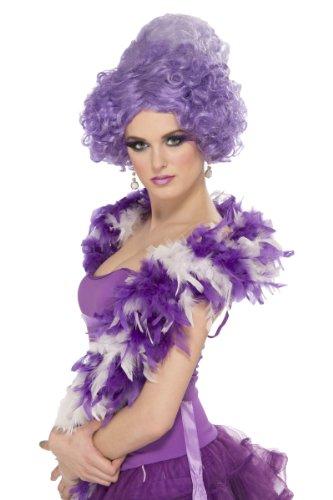 [Royal Aristocrat Purple Wig] (Aristocrat Halloween Costume)
