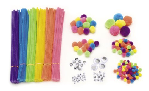 Darice EDU1525 300-Pack Craft Supplies, Assorted
