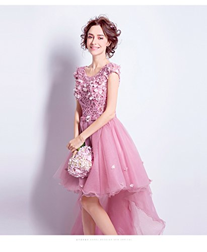 De Cocktail Rose Robe 6 Robe Rose Brodée Dentelle 6 Rose Goddess Sun Banquet Sweet XSYqwAAR