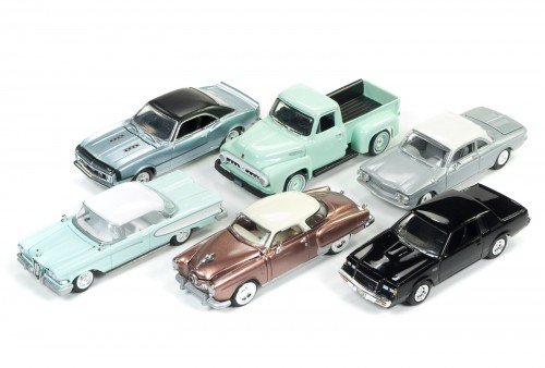 Racing Champions RC004A 2017 Mint Release 2 Set A Set of 6 Cars 1/64 Diecast Model Cars from Racing Champions