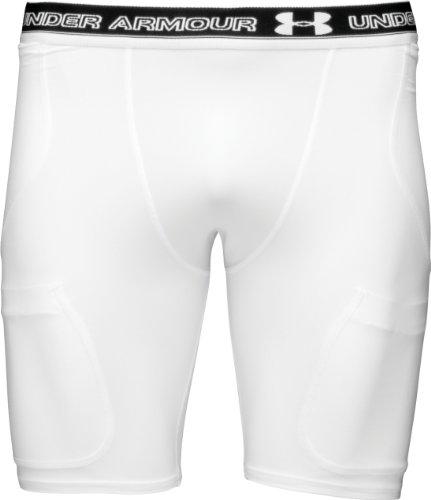Boys' Six-Pocket Girdle Bottoms by Under (6 Pocket Football Compression Girdle)
