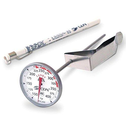CDN IRXL400 - ProAccurate Candy & Deep Fry Thermometer - Insta-Read, NSF - Insta Thermometer Read Proaccurate