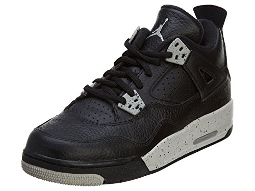 jordan-kids-air-4-retro-bg-oreo-black-tech-grey-black-youth-size-6