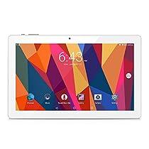 """Alldocube (Cube) iWork 10 Tablet 10.1"""",Intel Atom X5-Z8350, Processore Quad Core 1,44 GHz, Windows 10 + Android 5.1, RAM 4GB, HDD da 64GB, Wi-Fi, Schermo IPS, Doppia Telecamera-Nero"""