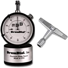 DrumDial Drum Tuner with Standard Drum Key
