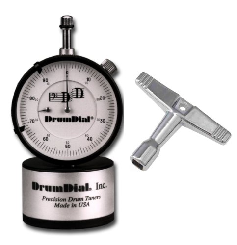 (DrumDial Drum Tuner with Standard Drum Key)
