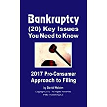 BANKRUPTCY - (20) Key Issues You Need to Know: The Only Pro-Consumer Bankruptcy Series Available Anywhere! (Ultimate Bankruptcy Series Book 1)