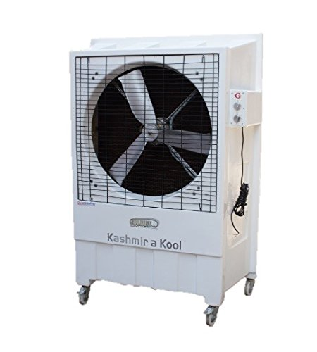 Golden Cooler 30-inch Exhaust Fan with Aluminium Castle Blade, White