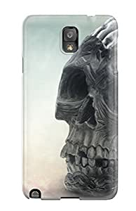 For Galaxy Note 3 Fashion Design Brain Skull Case-Zyhceid998lKKdK