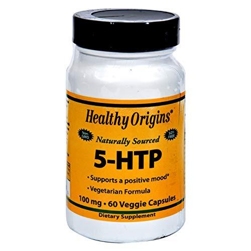 Buy healthy origins natural 5-htp 100 mg 60 capsules