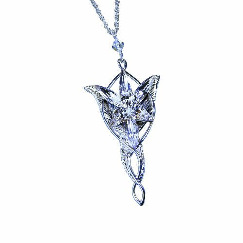 The Arwen Evenstar Pendant Silver Plated