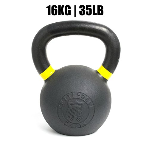 Kettlebell Kings | Powder Coat Kettlebell | Designed for Crossfit, Strength Training & Hiit Workouts (35)