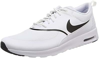 Nike Women's Air Max Thea Trainers, White/Black, 6 US
