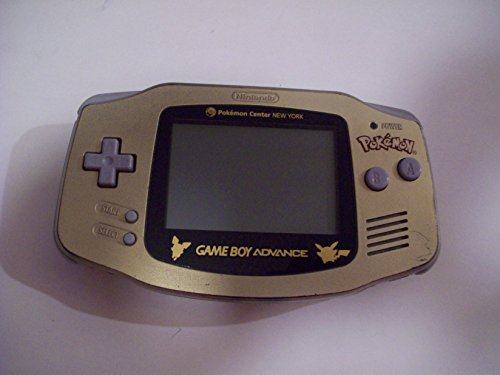 Game Boy Advance, Limited Edition Gold (Game Boy Pokemon Gold)