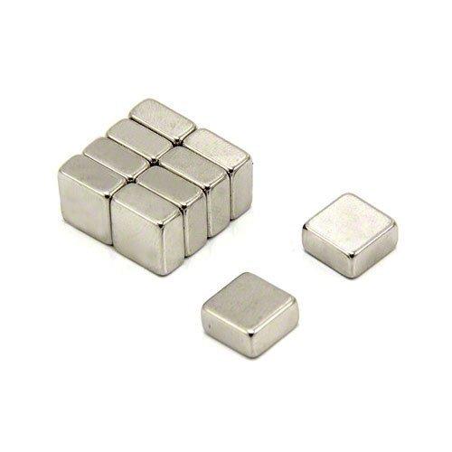 9 opinioni per Magnet- Magneti al neodimio N42, 2,8 kg, 10 x 10 x 5 mm, confezione da 10 pezzi