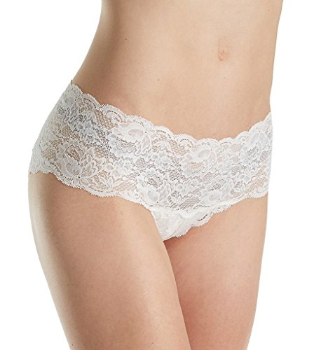 Cosabella Women's Never Say Never Hottie Lowrider Hotpants Moon Ivory Bikini MD/LG ()