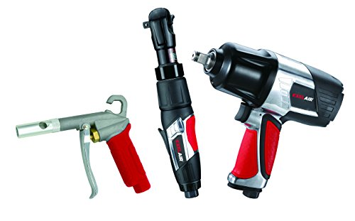 Cheap EXELAIR by Milton EX0303KIT (3-Piece Professional Air Tool Kit) – Impact Wrench, Air Ratchet, and High-Flow Blow Gun