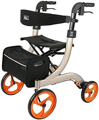 Andadores para discapacidad estándares Ligeros Andador Plegable de ...