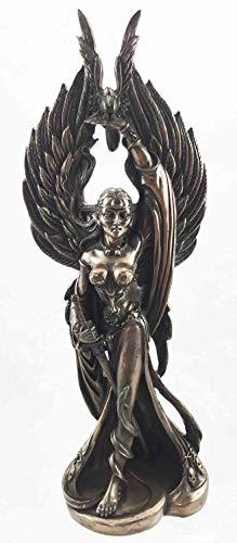 Figurine Ancient Irish Celtic War Goddess Morrigan Queen Decor ()