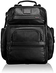Tumi Alpha 2 T-Pass Business Class Leather Brief Pack&reg, Black
