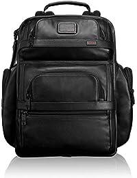 Alpha 2 T-Pass Business Class Leather Brief Pack&reg, Black