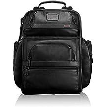 TUMI - Alpha 2 Tumi T-Pass Business Class Leather Brief Pack - Black