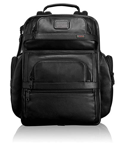 TUMI - Alpha 2 Tumi T-Pass Business Class Leather Brief Pack - Black