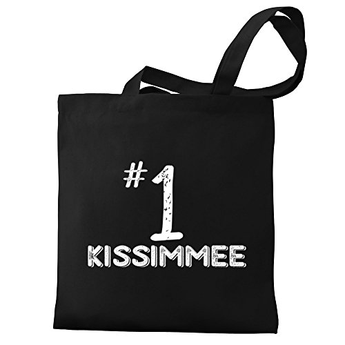 Eddany Number 1 Kissimmee Canvas Tote - Kissimmee Shopping