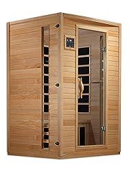 Golden Designs AMZ-GDI-6202-03 Versailles 2-Person Far Infrared Sauna