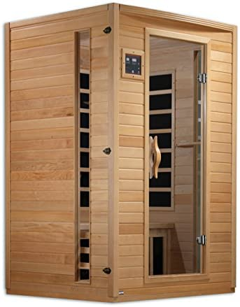 Golden Designs AMZ-GDI-6202-03 Versailles 2-Person Far Infrared Sauna