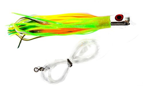 Boone Rigged Chartreuse Multi 7 Inch