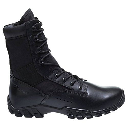 Bates Mens Cobra Hot Weather Side Zip Military And Tactical Boot  Black  10 M Us