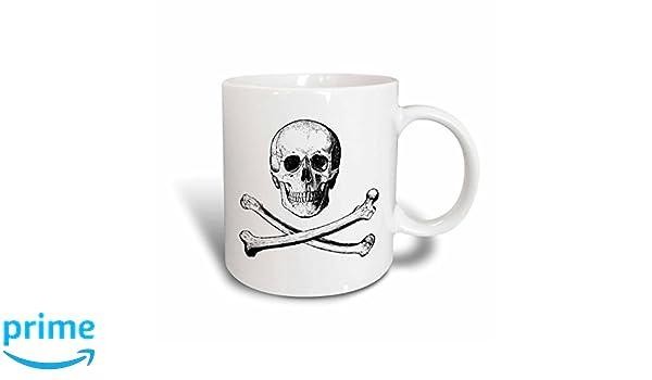 3dRose mug/_200636/_1 Bae Block Letters on White Background Ceramic Mug 11-Ounce
