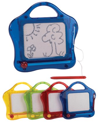 (Schylling Mini Magnetic Sketch and Erase - Colors May Vary)