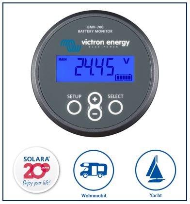 Premium Victron Batterie Monitor BMV-700 SOLARA