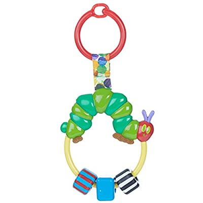 World of Eric Carle, The Very Hungry Caterpillar Attachable Bead Rattle : Baby Rattles : Baby