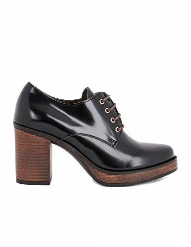 34442b36 BRYAN Blucher Tacón Piel Florentic - Color - Negro, Talla Zapatos Mujer - 40:  Amazon.es: Zapatos y complementos