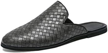スリッポン ローファー メンズ スリッパ 軽量 滑り止め 無地 大きいサイズ レトロ 靴 モカシン オフィス 蒸れにくい 革靴 かかと サボ 履きやすい カジュアルシューズ ドライビング 紳士靴 通気 普段用サンダル